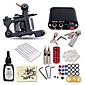 Beginner Tattoo Kit 1 Machine Professional Tattoo Kit 1 Cast Iron Machine Liner & Shader 1 Mini Power Supply 10 Tattoo Needles No Carrying Case