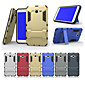Special Design PC Silicone Back Cover Cases with Stand for Samsung Galaxy J5/J7 (Assorted Colors)