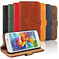 Luxury PU Leather Flip Case Phone Cover Cases With Wallet For Samsung Galaxy S3 Mini/S4 Mini/S5 Mini