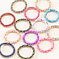 Candy Girl Fabric Elastic Hair Ties Hair Jewelry(Random)