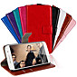 Luxury PU Leather Wallet Case For Samsung Galaxy S7/S7 Edge(Assorted Colors)