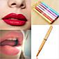 1 Lippenpinsel Nylon Pinsel Reise umweltfreundlich Transportabel Berufs Metall Lippe Andere